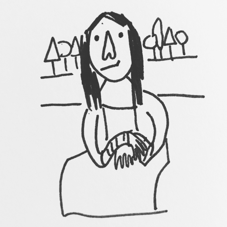 Daily Drawing Day - Mona Lisa l - wawawawick | ello
