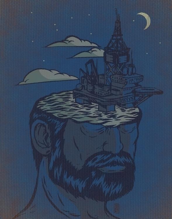 Deeper Exploration - illustration - thomcat23 | ello