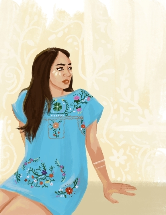 drawing Latinx Disney princess - cariguevara | ello