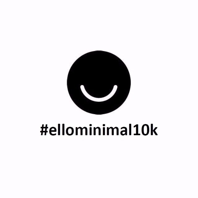REMINDER ! Tag chance featured  - ellominimal | ello