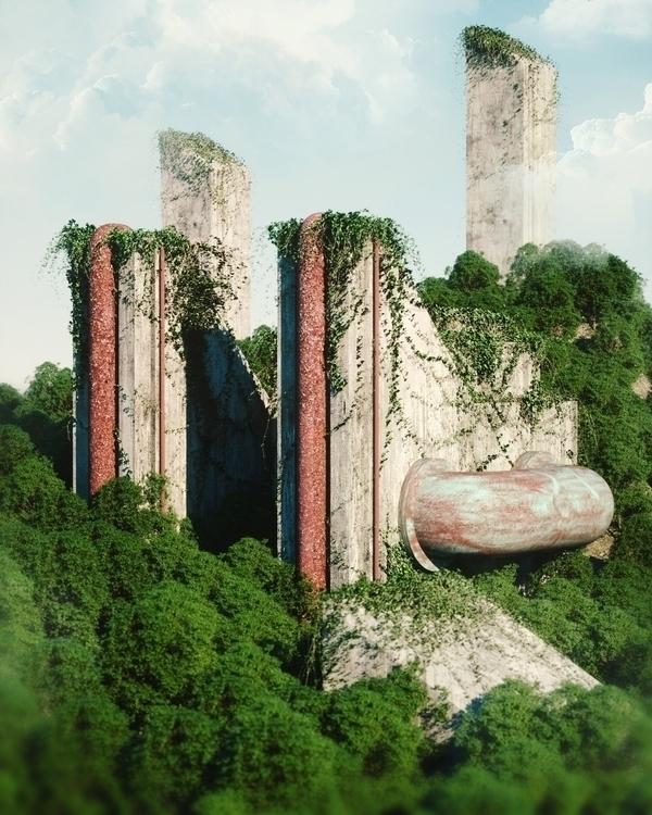 Forgotten Factories  - cinema4d - andreasjd | ello
