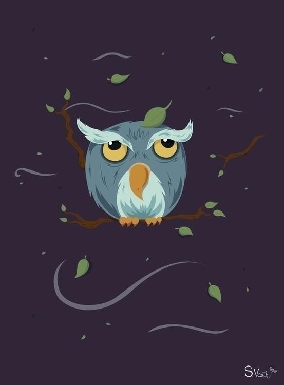 Night Owl created Adobe Illustr - svaeth | ello