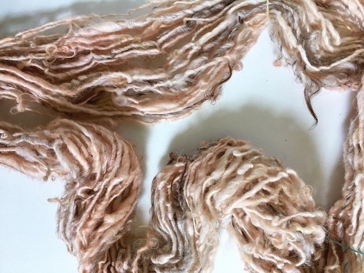 Handspun Icelandic wool, dyed m - amandajfrench | ello