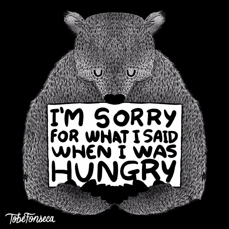 Hungry / Tobiasfonseca.com - tshirt - tobefonseca   ello