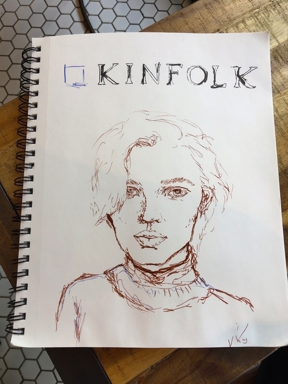kinfolk (blue - elliewril3y | ello