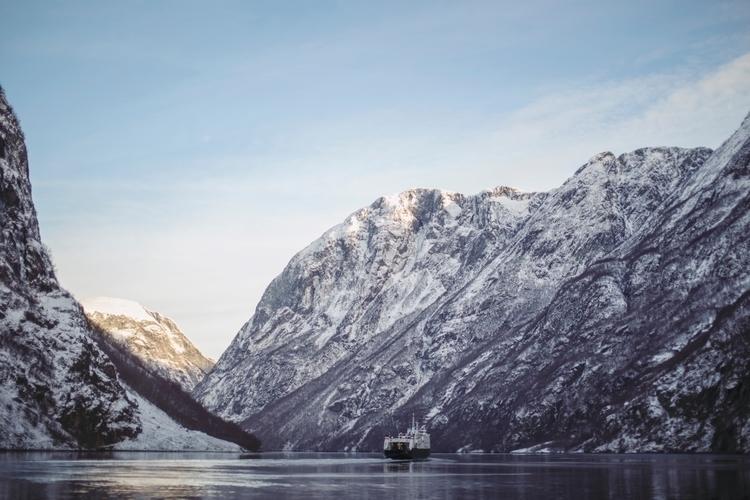 mountains, fjord - margithylland | ello