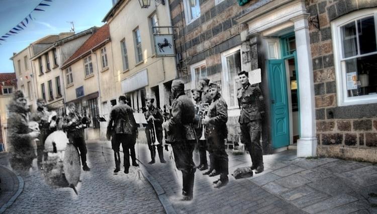 Nazi Band Alderney - series Gho - neilhoward | ello
