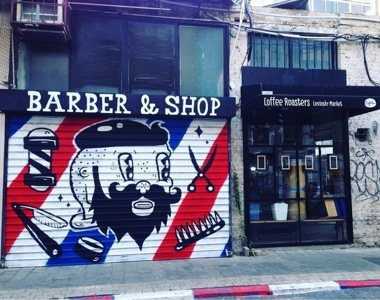 barber barter mural roll win st - frenemy | ello