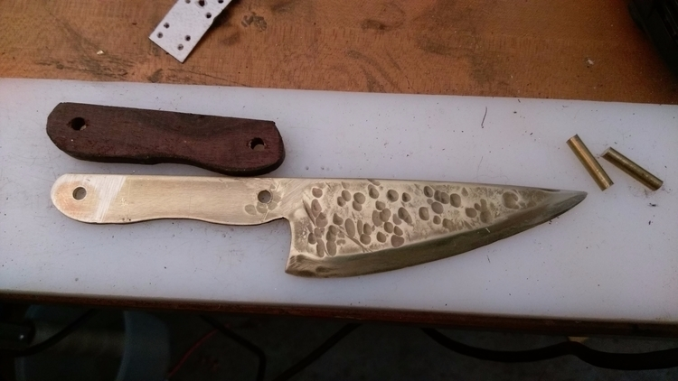 brass, wip, cheeseknife, knife - shawn_from_tx | ello