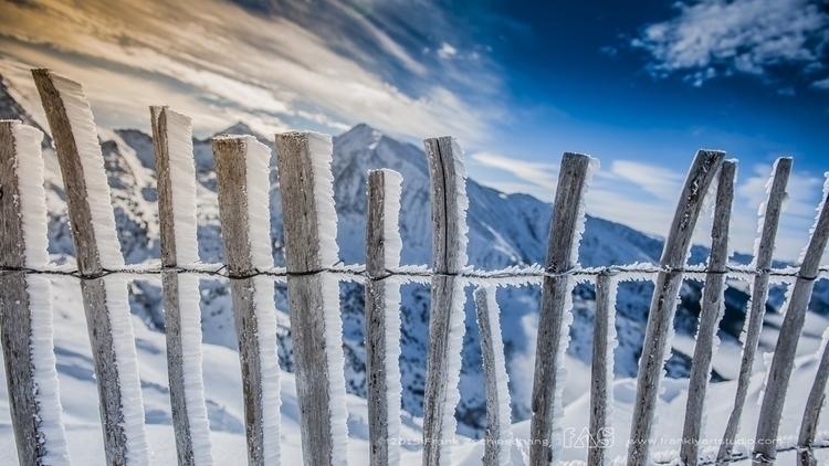 Frosty fence | France - landscape - frank-zschieschang | ello