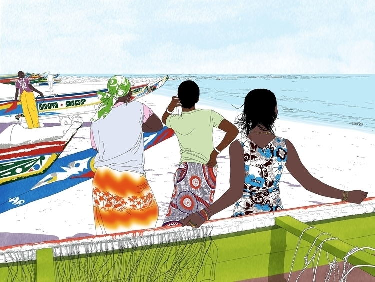 Digital illustration watercolou - digitalillustrationworks | ello
