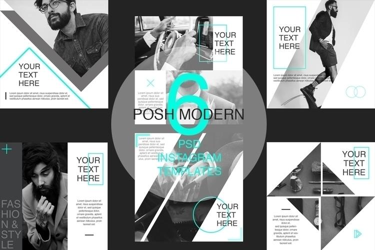 Posh Modern | Social Media Temp - anastasiavoutsa | ello
