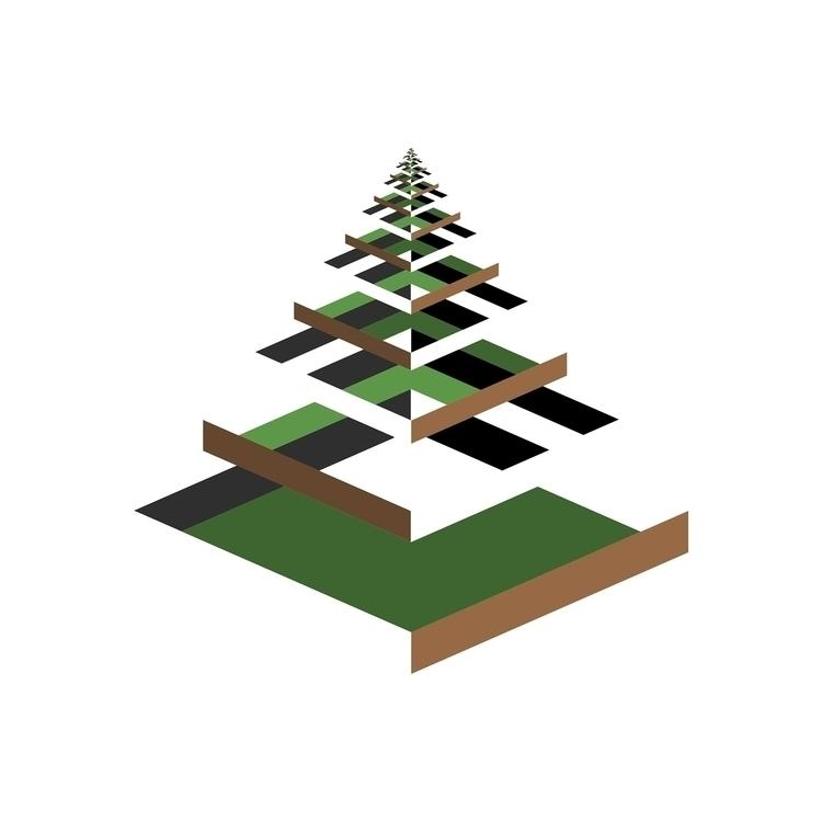 Tree (2016 - tree, geometricabstraction - diigima | ello