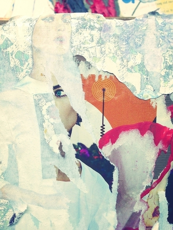 Ghost Electric - art, collage, texture - jkalamarz | ello
