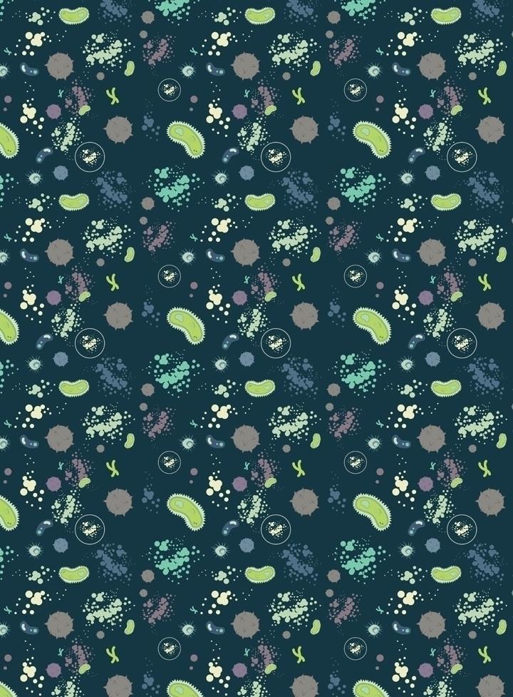 micro-organism inspired pattern - svaeth   ello