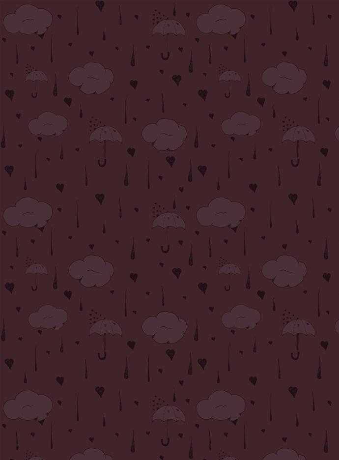 rainy love weather themed patte - svaeth | ello