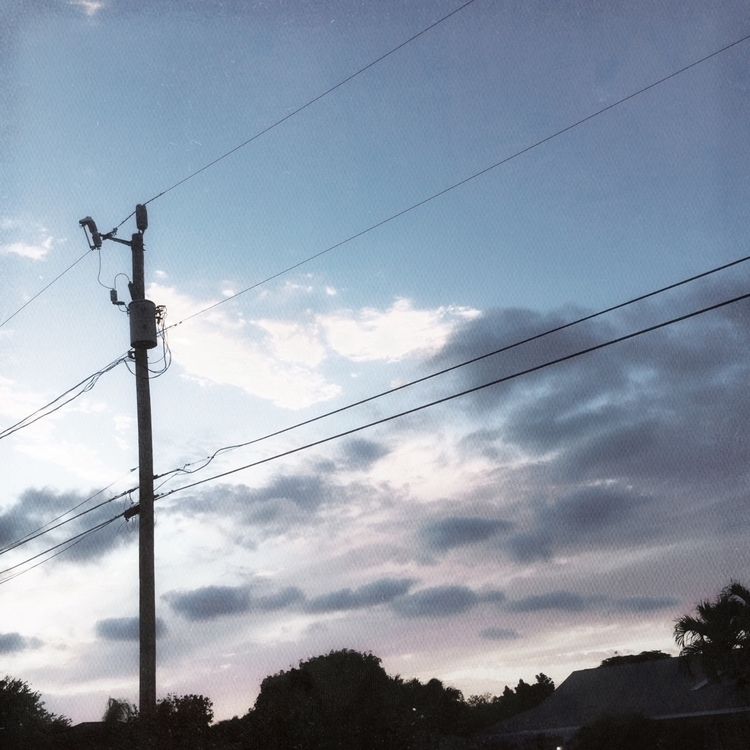 Cloudy Evening Sunset Sky Apps - mikefl99 | ello