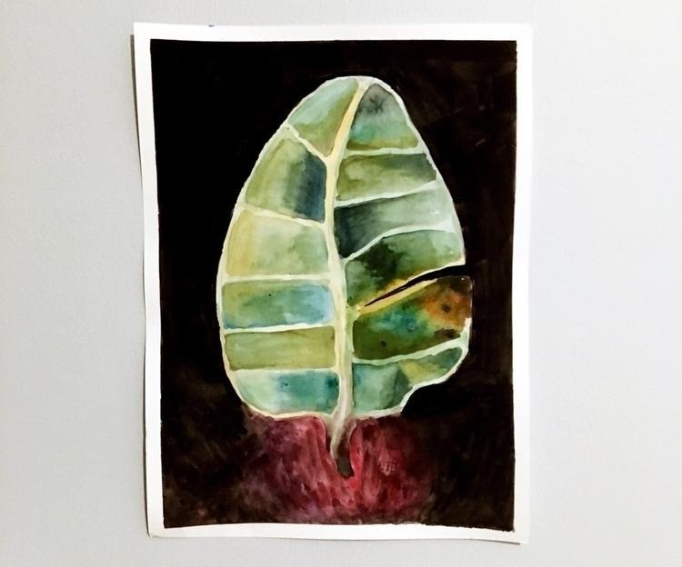 Gouache Watercolor - art, painting - aidan-rosario | ello