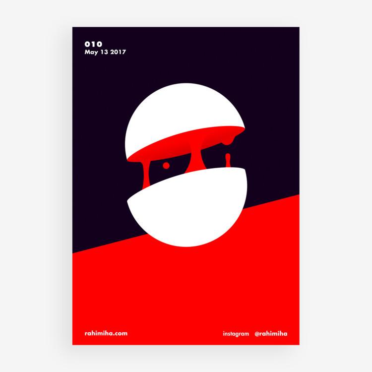 Day 010 Nima Rahimiha - poster  - rahimiha | ello