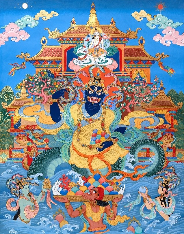 Dear friends world, Nagas power - tsemrinpoche | ello