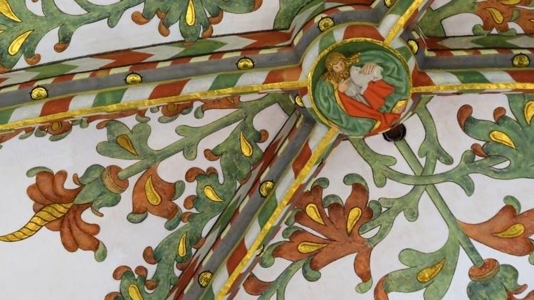 Ceiling – interior 'Grote Kerk - zondervrees | ello