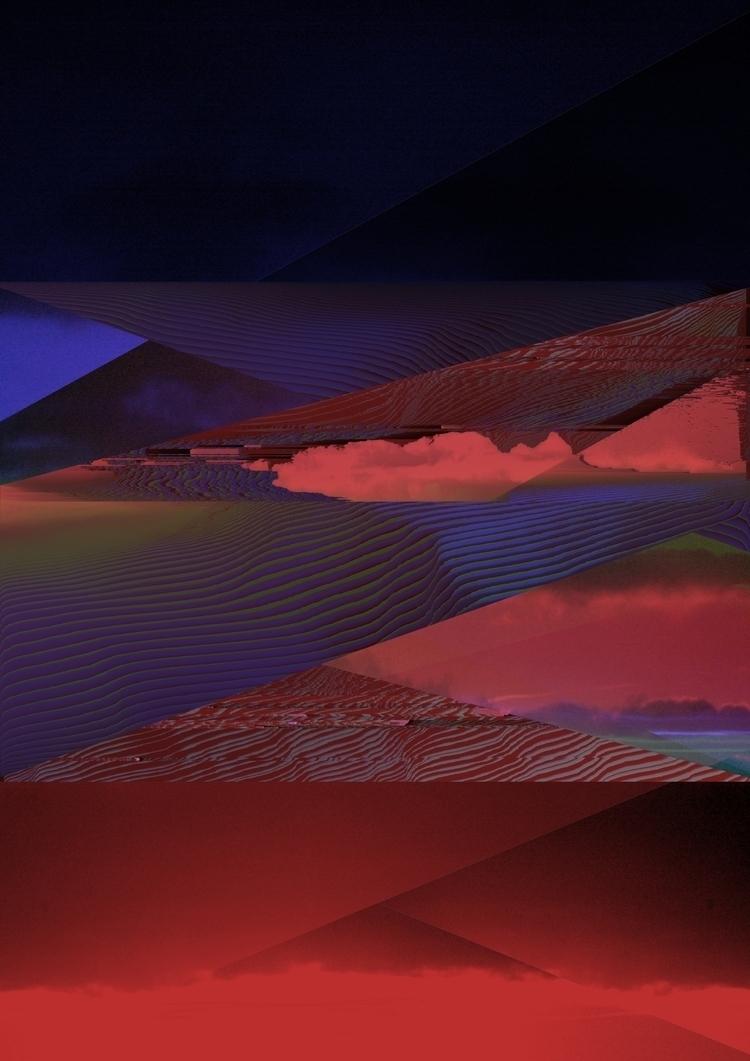 Skyline Glitch Art - elloglitchart - errones | ello