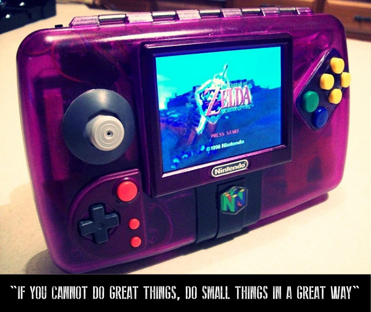 VGN gamers! tiny gem - handheld - viralgamesnews | ello