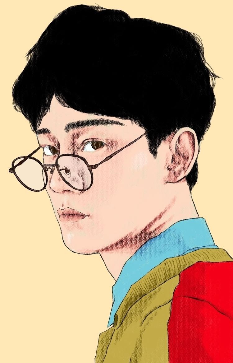 Jongdae Photoshop - Design, Portrait - jerold | ello