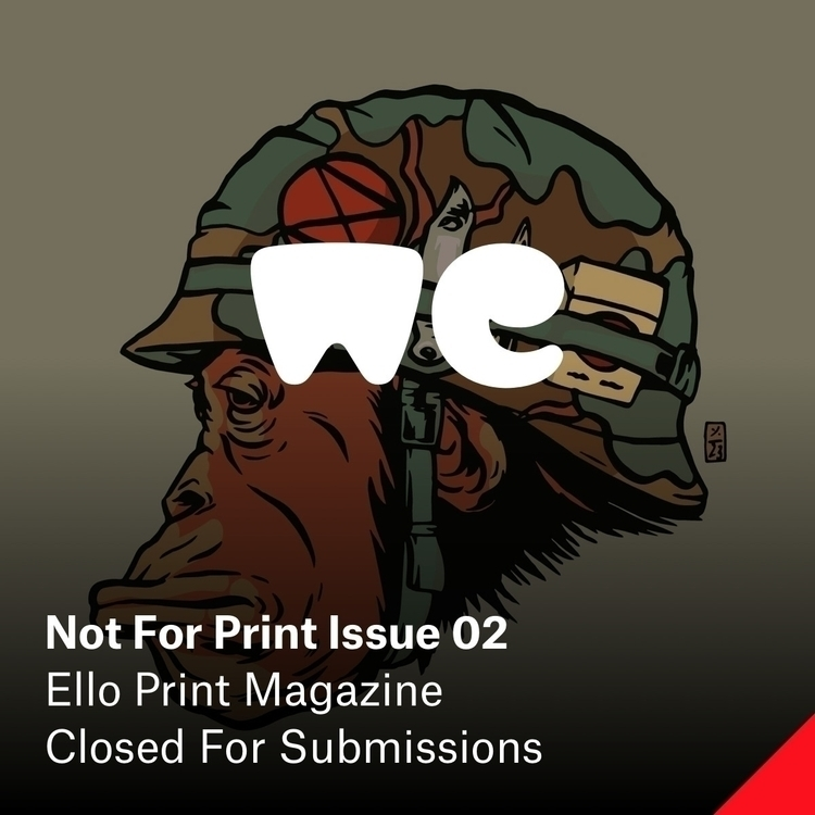 Print Issue 02 — Resist Sponsor - elloartistinvites | ello
