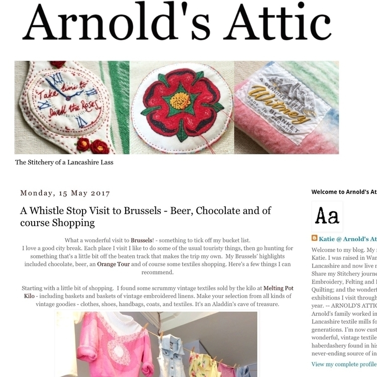 Check latest blogpost shopping - arnolds-attic | ello