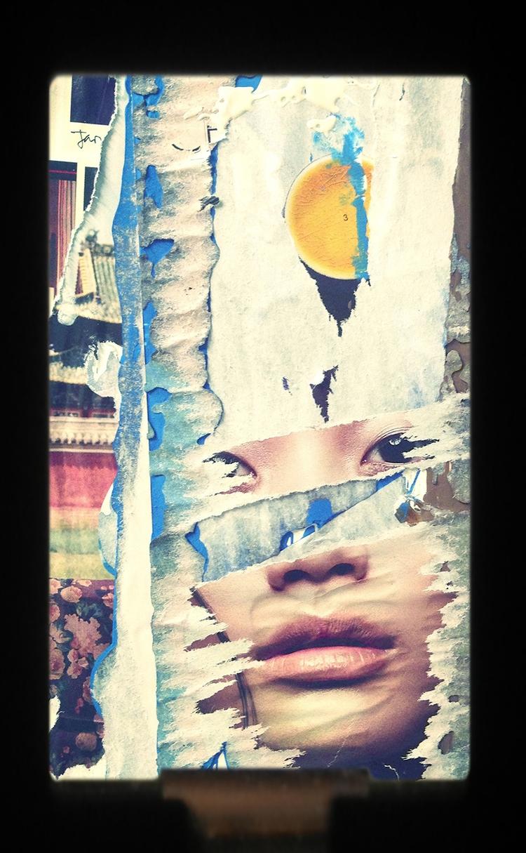 Suburban Mood - art, collage - jkalamarz | ello