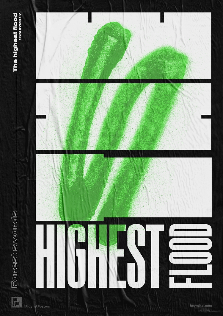 Playlist-posters // Forest Swor - heymikel | ello