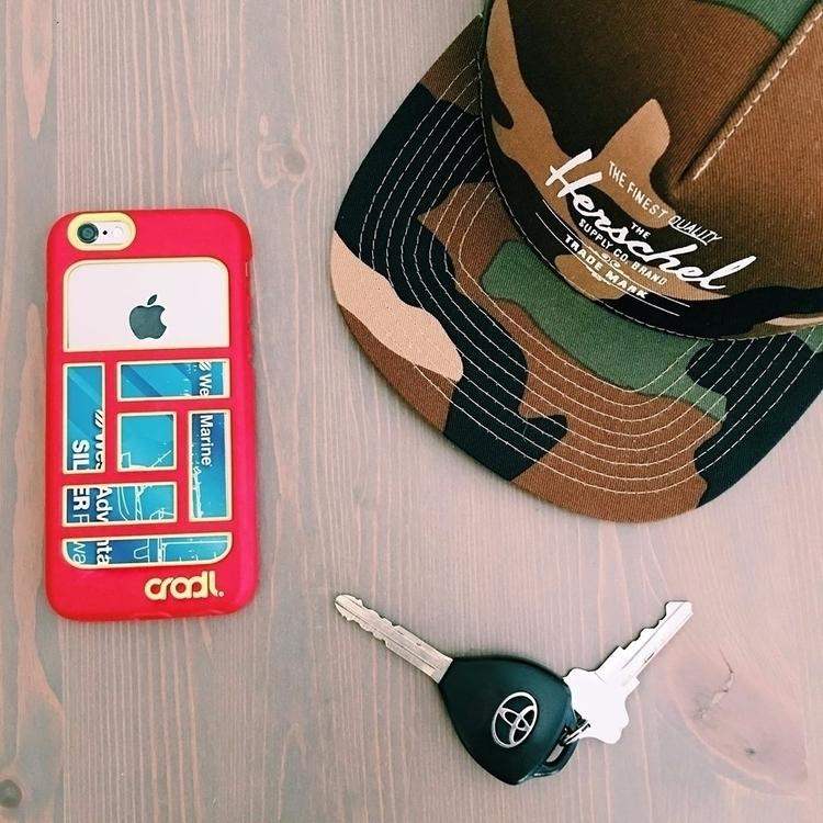 Phone. Keys. Wallet. CHECK! 2/3 - cradl | ello