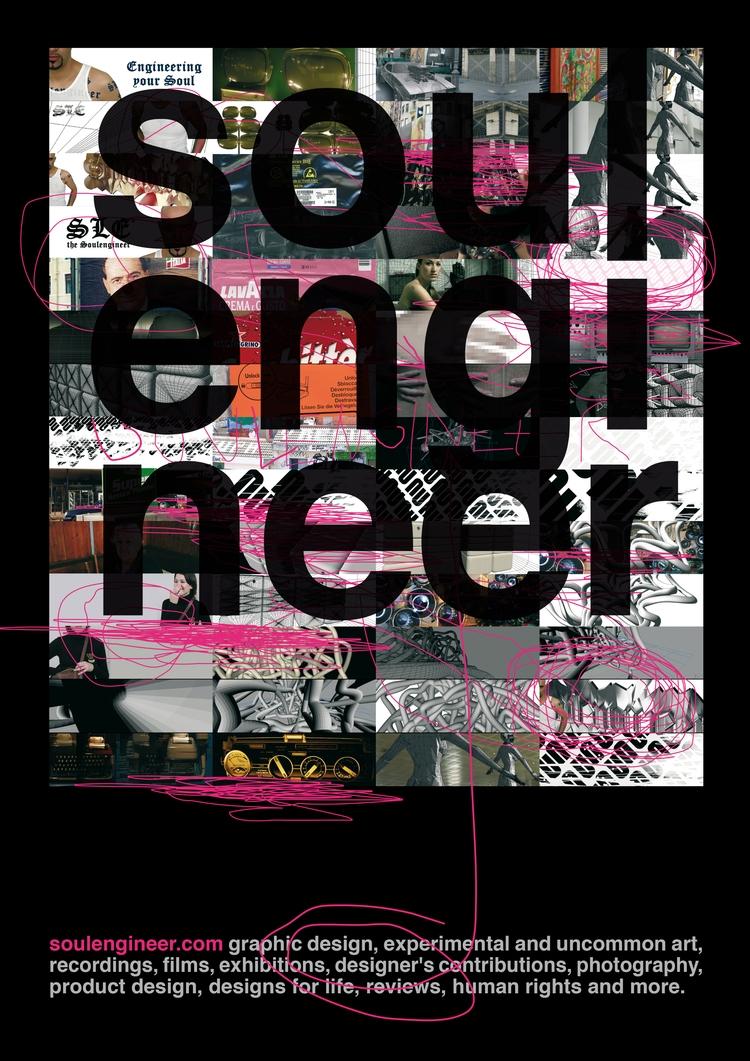 Soulengineer - Poster, Typography - marcomariosimonetti | ello