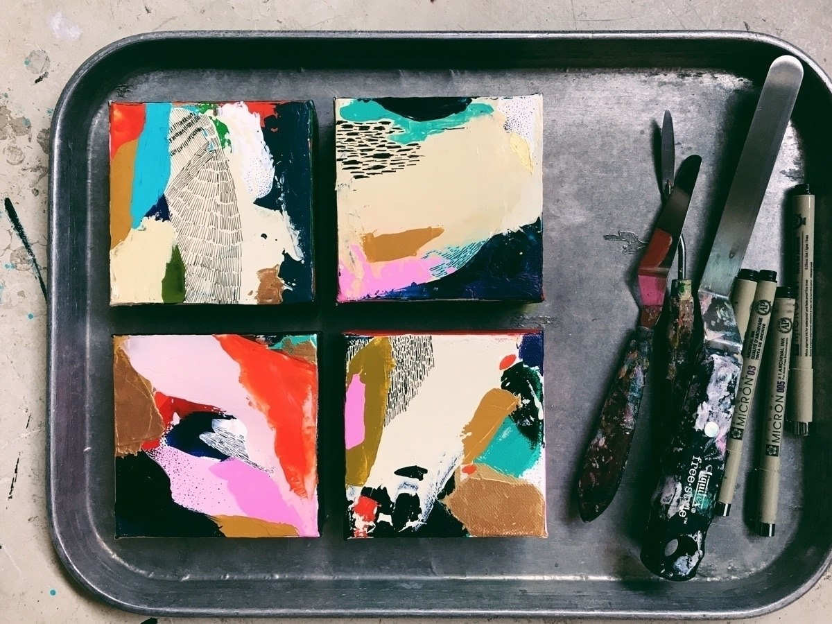 Serving fresh, homemade art 199 - angietherose | ello