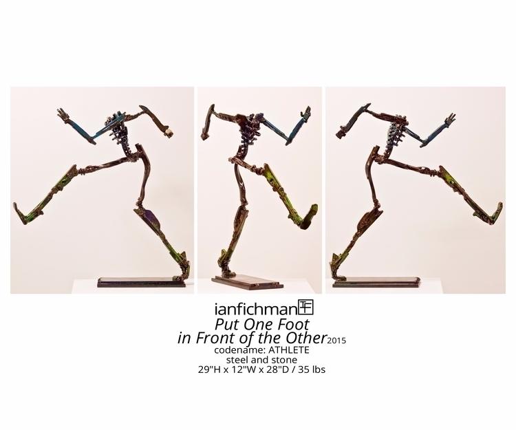 Put Foot Front 2015 codename: A - ianfichman | ello
