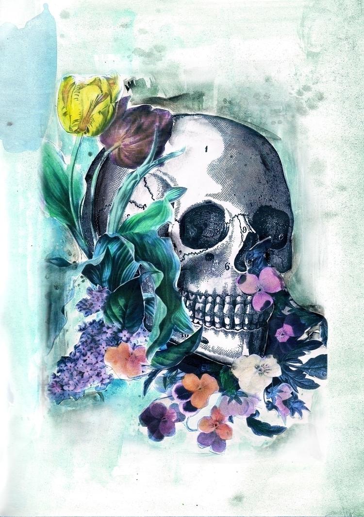 Skull lavinia bizzarri - illustration - laviniabizzarri | ello