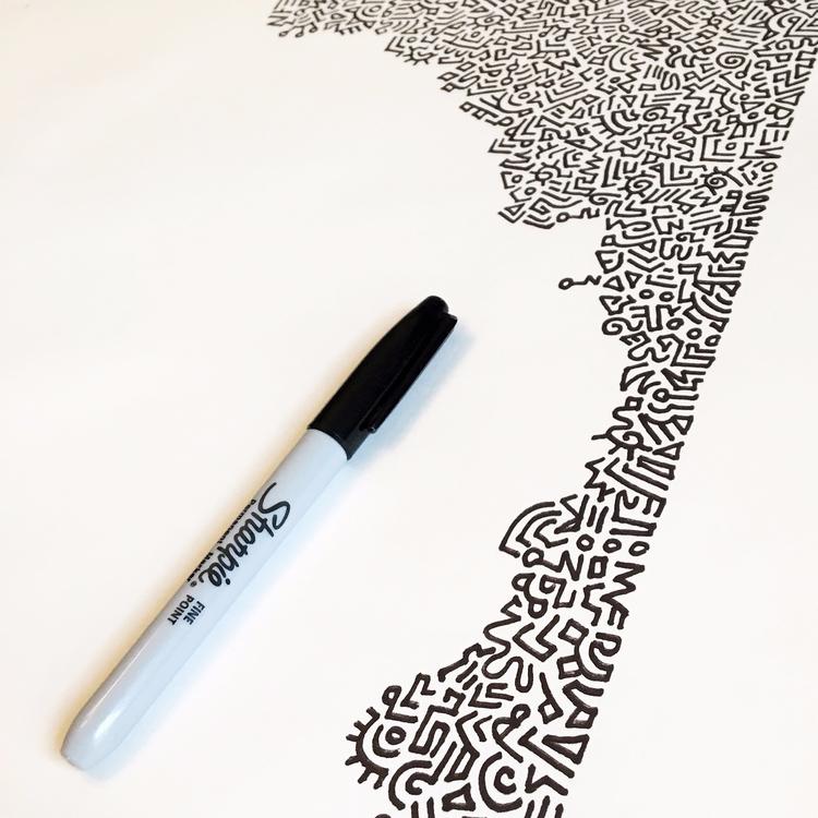 gonna  - elloart, abstract, doodles - benjaminnelson | ello