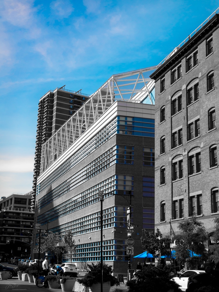 Blue City - photography, nyc, cityscape - ginastartup | ello