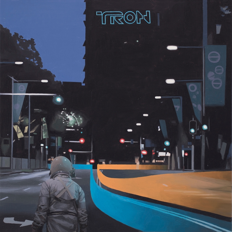 >>>> TRON PRINTS!  - scottlistfield | ello