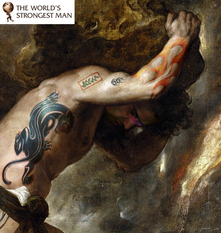 retrato.  Mito Sisyphus - loza |  Ola