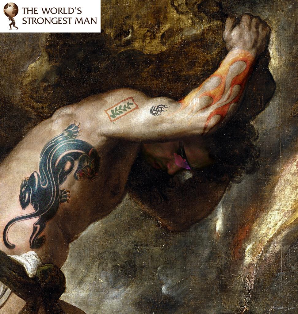 portrait. Myth Sisyphus - loza   ello