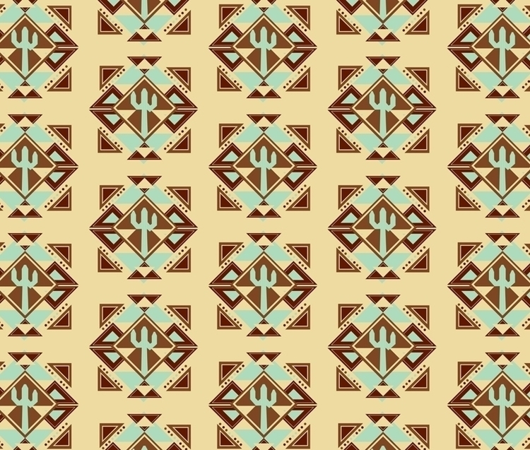 Southwest themed pattern design - svaeth | ello