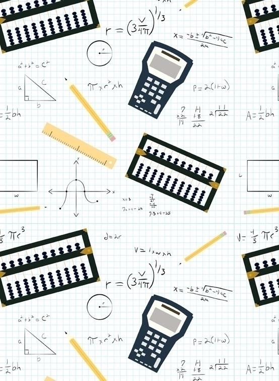 math themed pattern designed Ad - svaeth | ello
