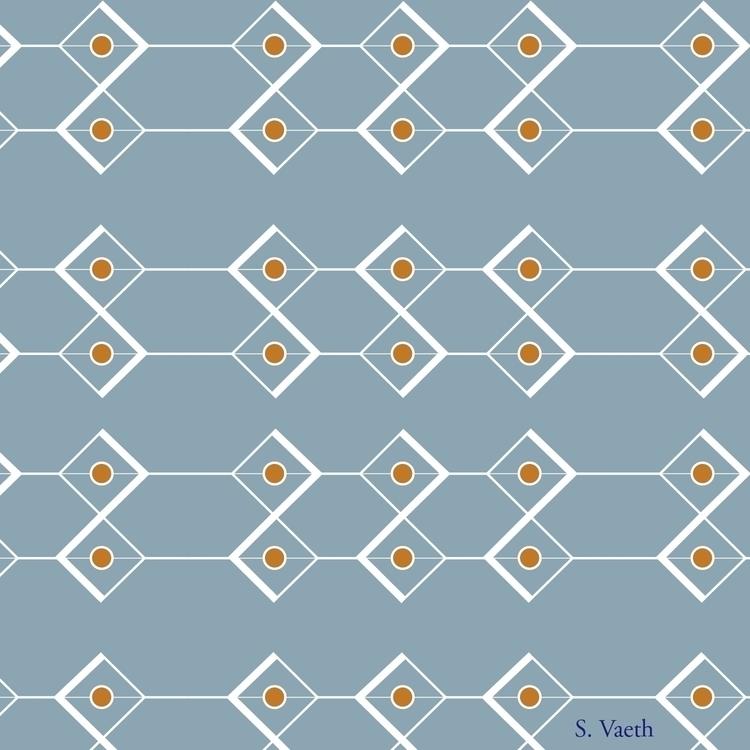 mod themed pattern - diamonds, cicrle - svaeth | ello