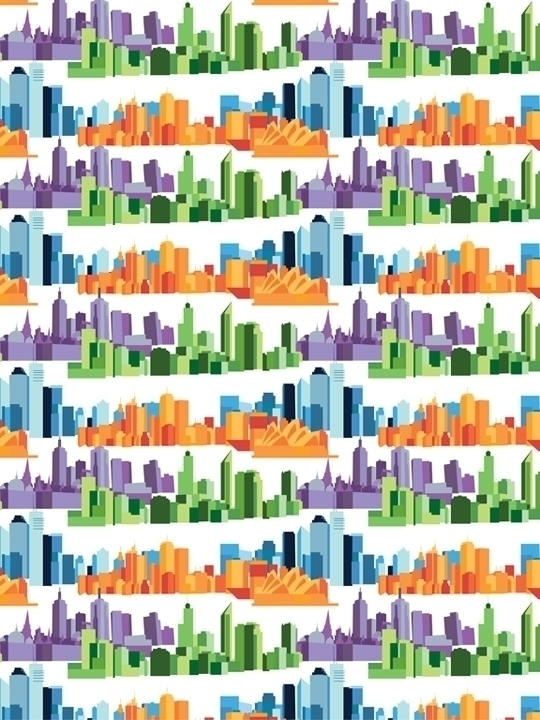 pattern based Australian cities - svaeth | ello