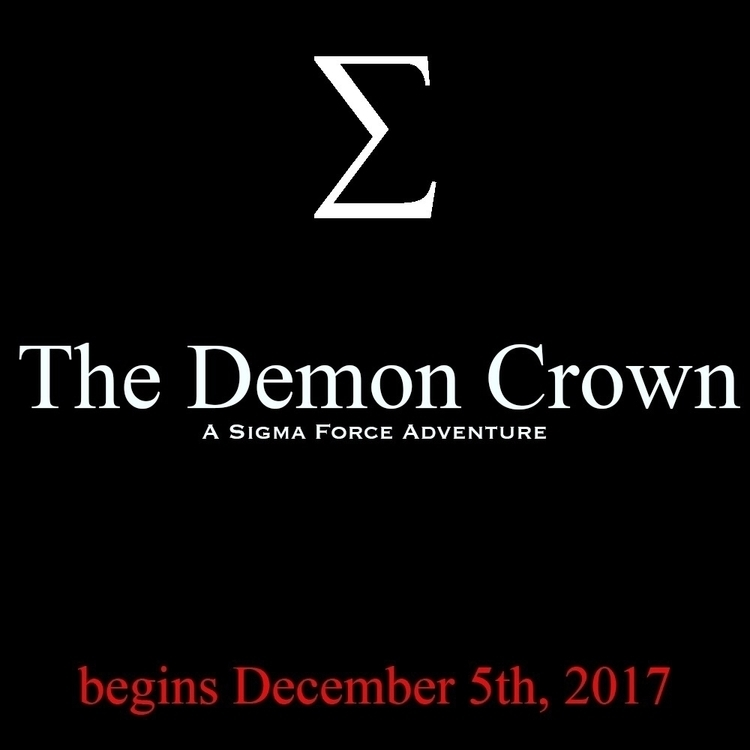 Demon Crown debuts December 5th - jamesrollins | ello