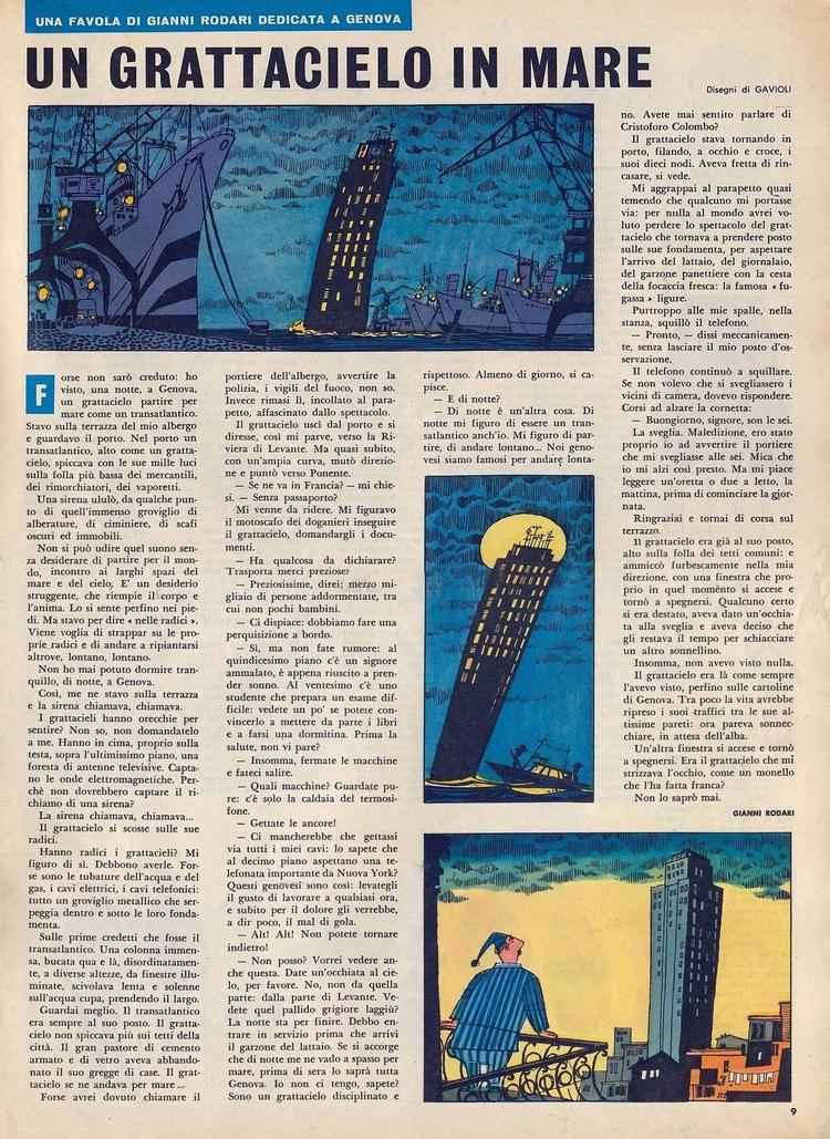 grattacielo (di Rodari Gavioli - corrierino | ello