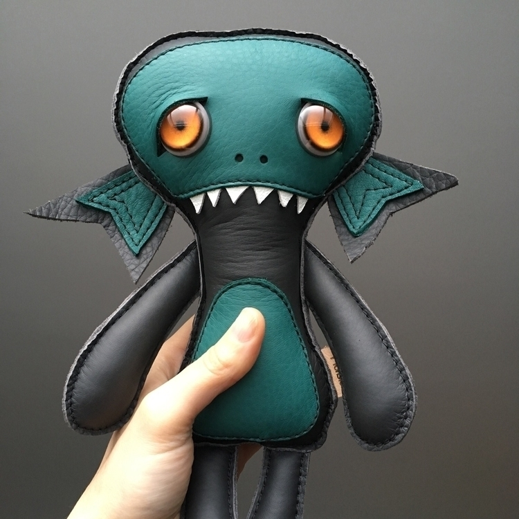 Baby sea monsters coming swimmi - leathermonsters | ello