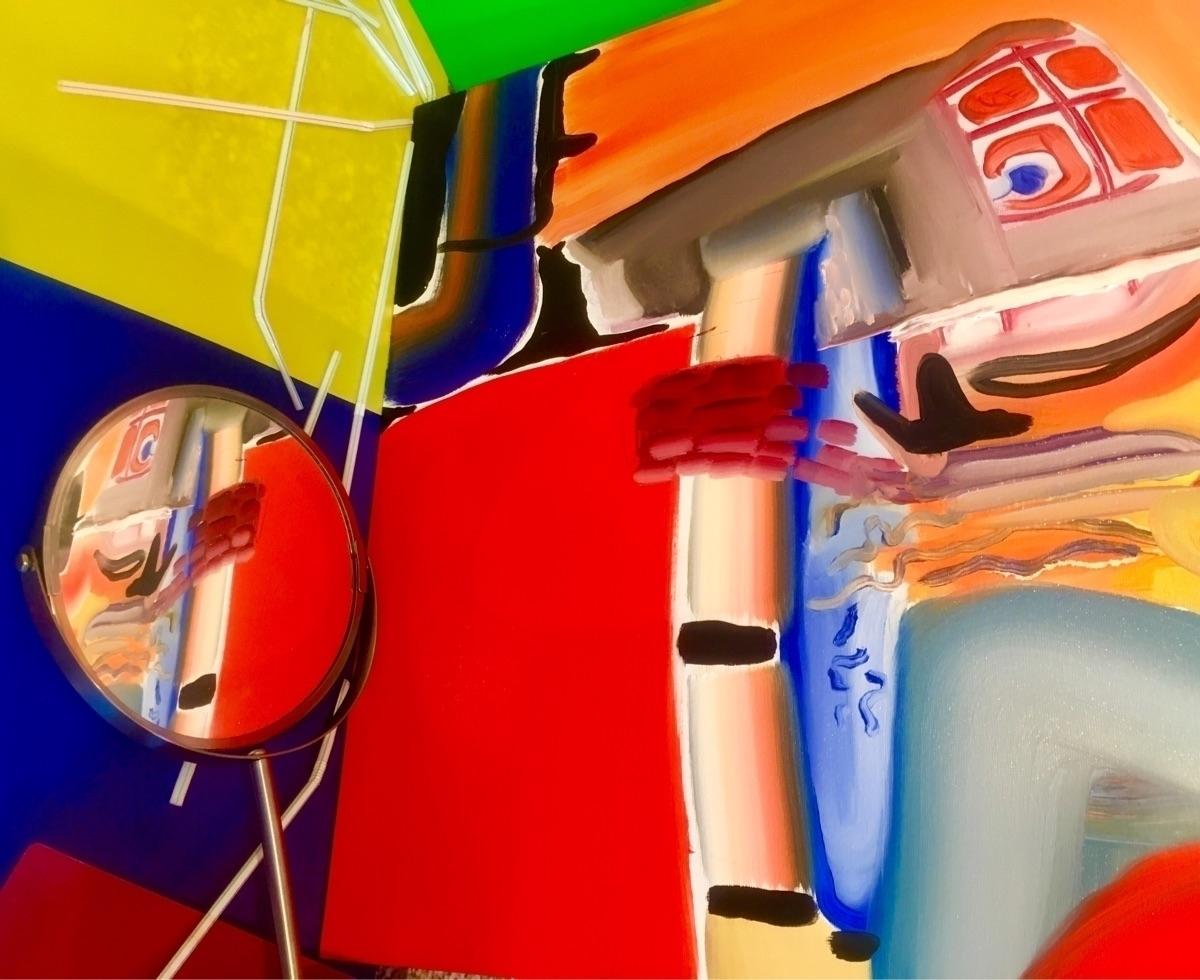 Penalty box  - art, oilpainting - visualmar | ello